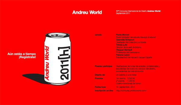 Concurso Diseño Andreu World
