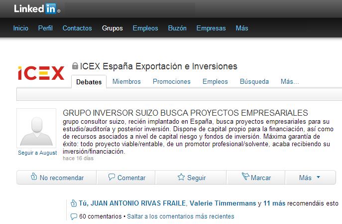 Inversores contract España